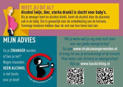 Minder alcoholgebruik tijdens de zwangerschap in De Ronde Venen